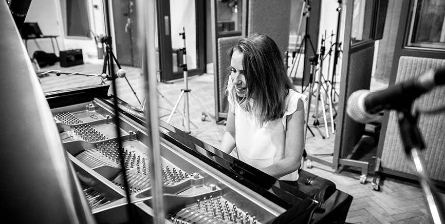 ELE talks about recording her latest album in Studio Two