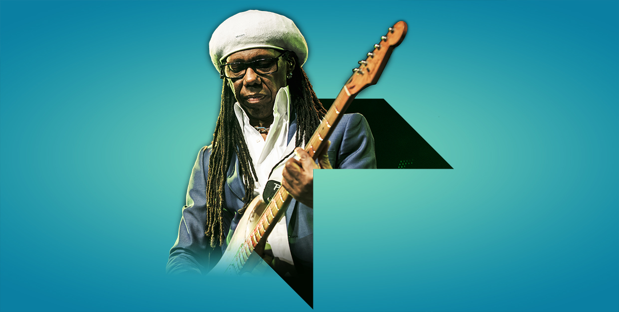 Nile Rodgers at Abbey Road