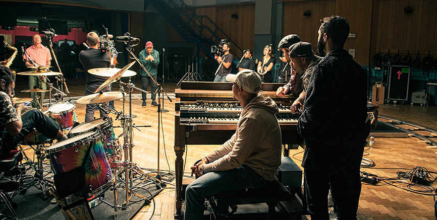 Piers from Rudimental talks to Abbey Road