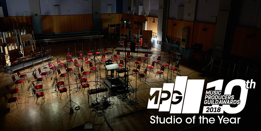 Abbey Road Wins 2018 Studio of the Year