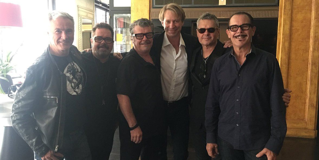 Giles Martin announced as Executive Music Director for legendary rock band INXS and Petrol Records