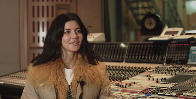 Marina and The Diamonds talks to Abbey Road