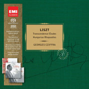 Transcendental Etudes & Hungarian Rhapsodies - Liszt & Georges Cziffra