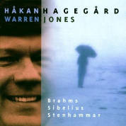 Brahms/ Sibelius/ Stenhammer Songs  - Hakan Hagegard/ Warren Jones