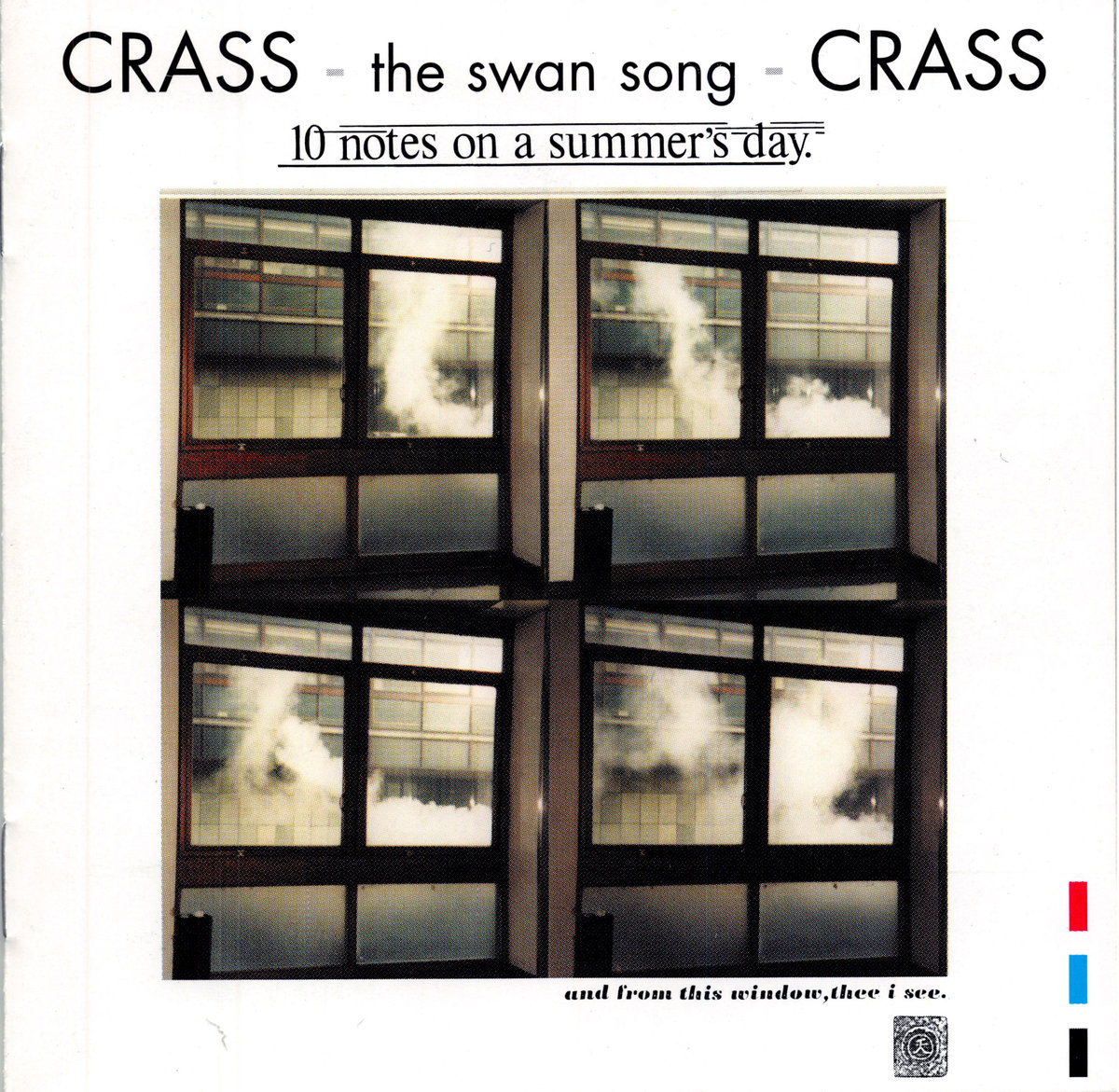Ten Notes On A Summer's Day - Crass