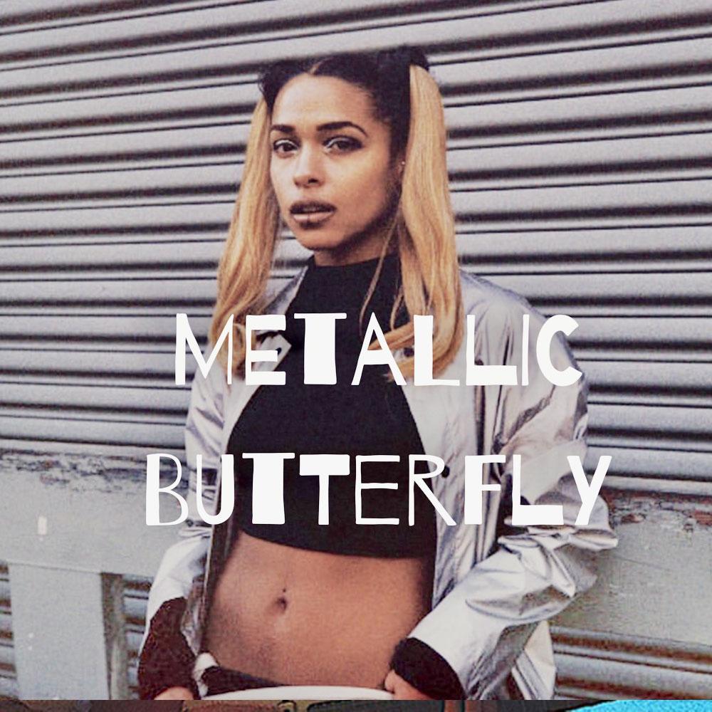 Metallic Butterfly (reissue) - Princess Nokia