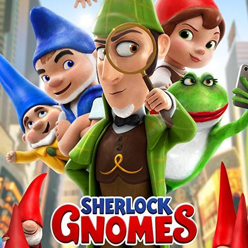 Sherlock Gnomes - Chris Bacon