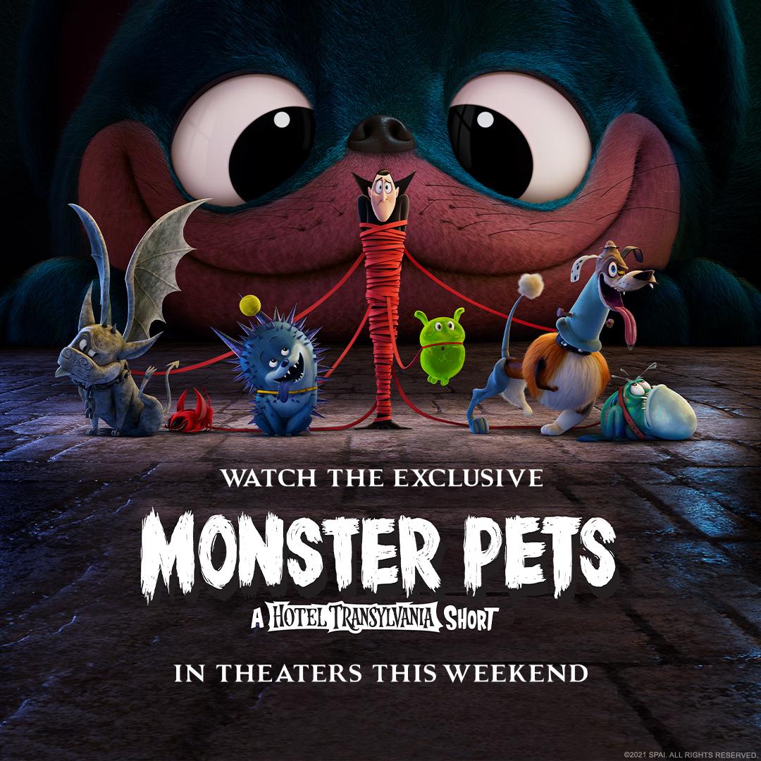 Monster Pets: A hotel Transylvania Short Film -