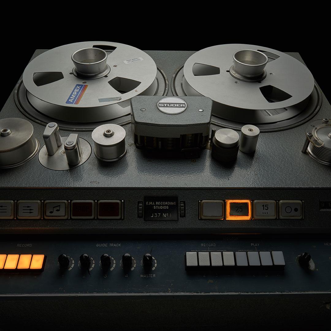 Studer J37 4-Track Tape Machine (1964-1972)