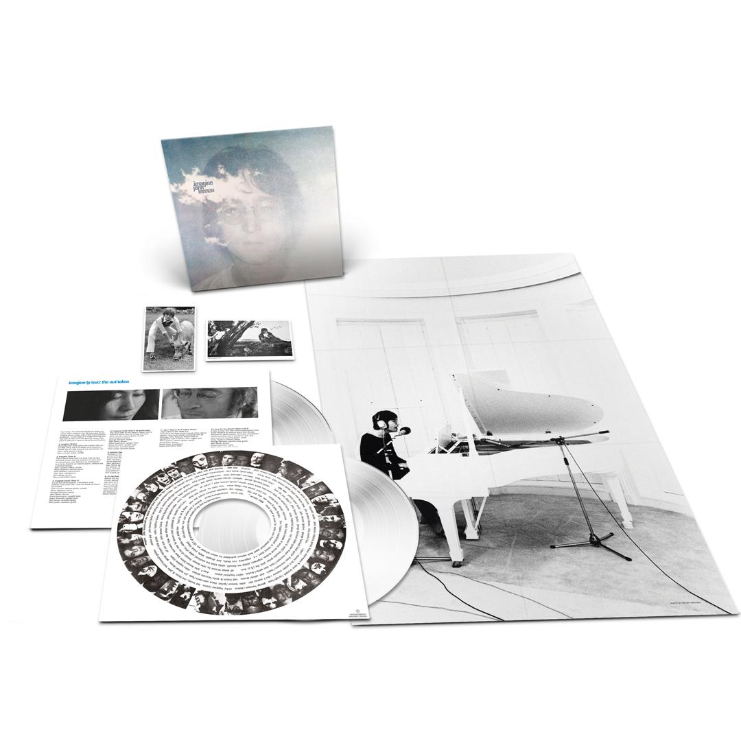 Imagine: Exclusive White Coloured Vinyl