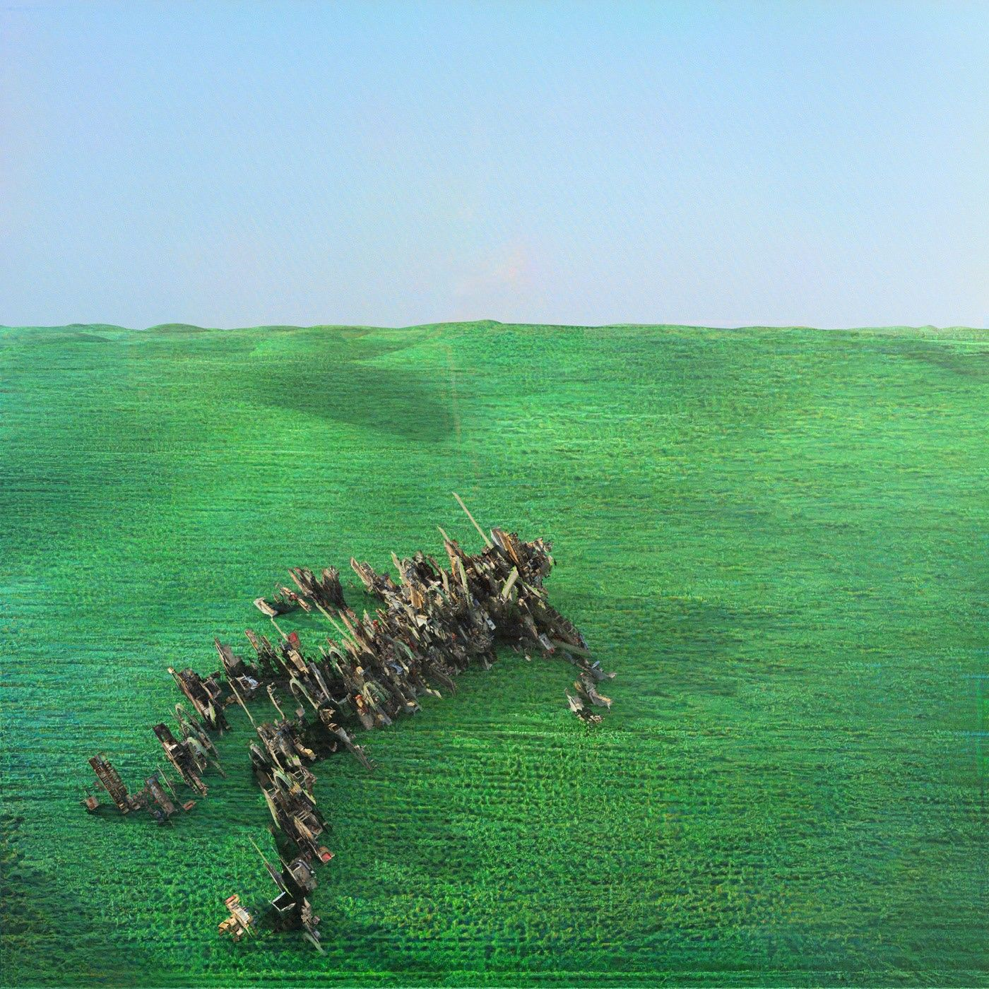 Bright Green Field: CD