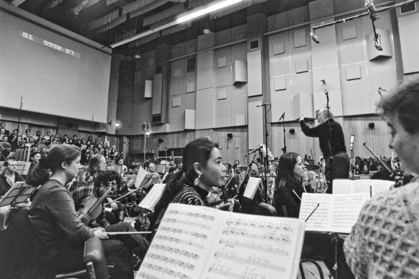John Williams conducting the LSO in Studio One