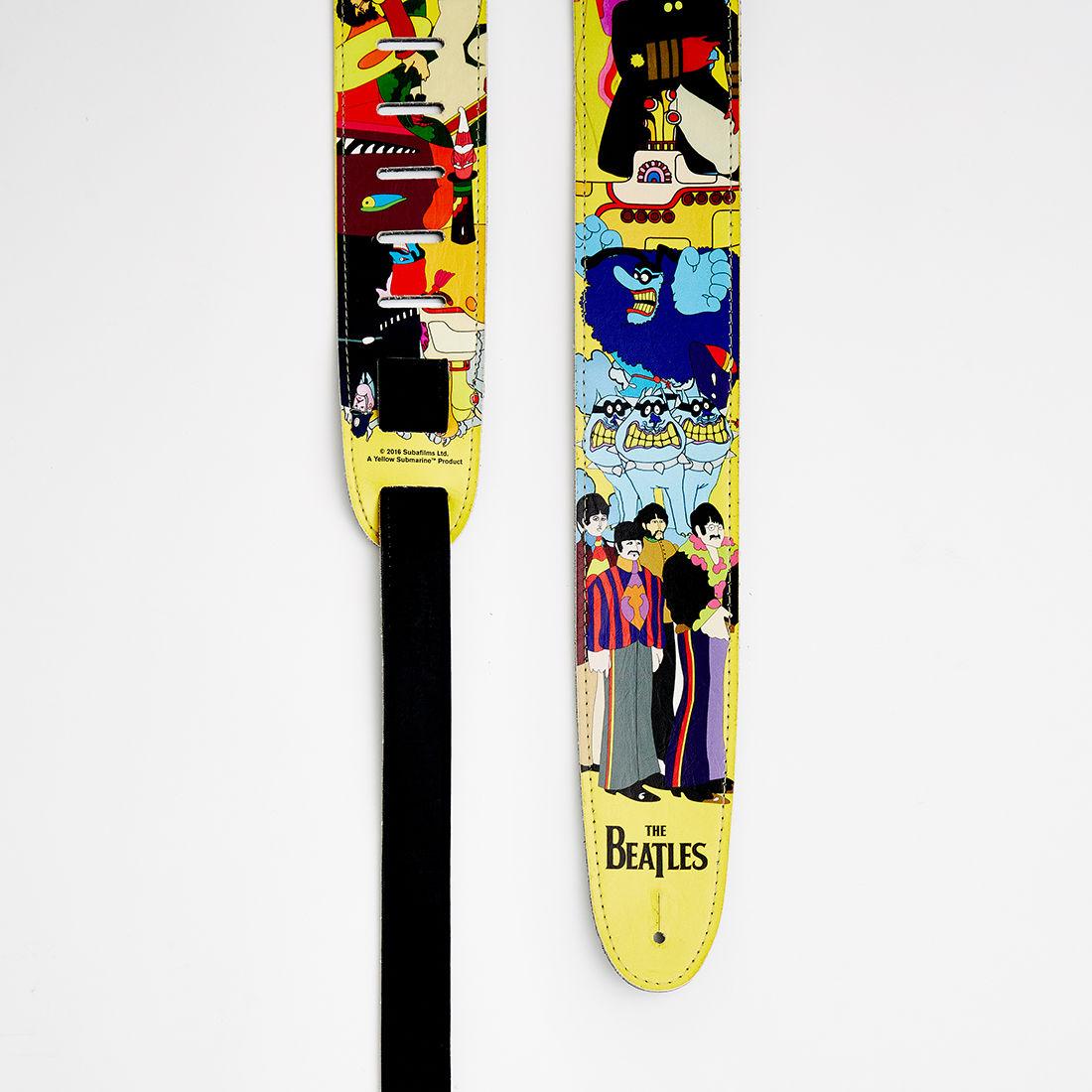 The Beatles Yellow Submarine Guitar Strap