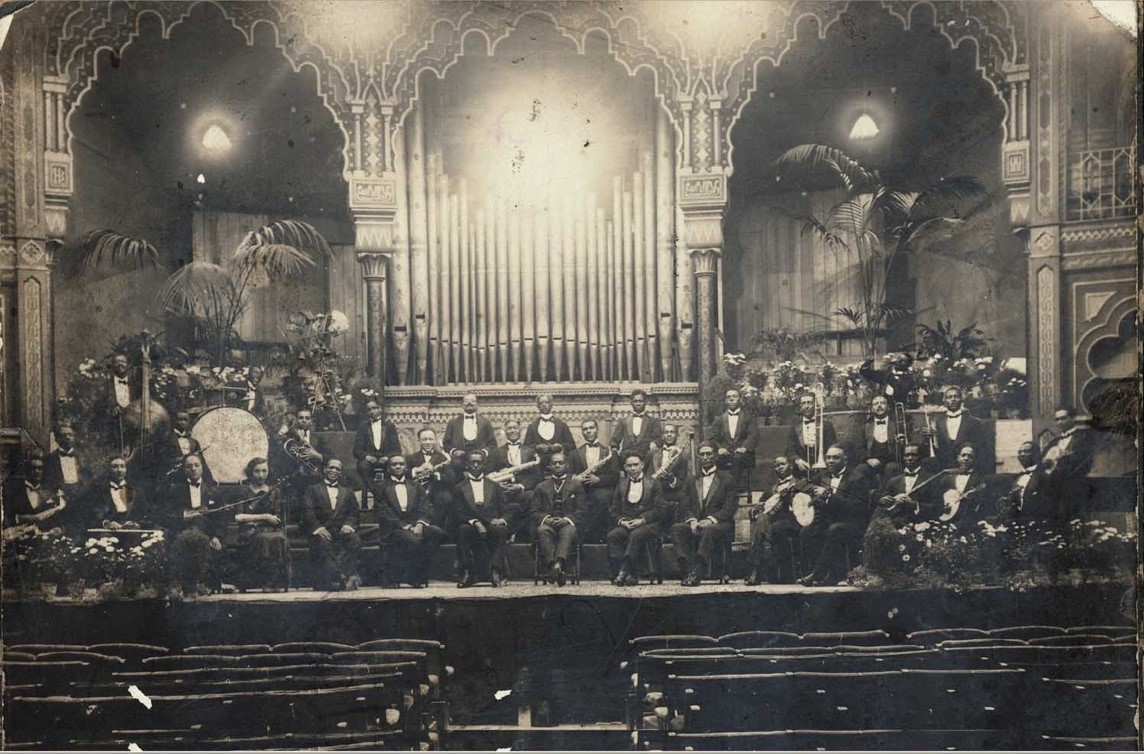 Pictured are the Southern Syncopated Orchestra