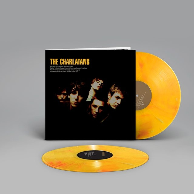 The Charlatans: Limited Edition Marbled Yellow Vinyl 2LP