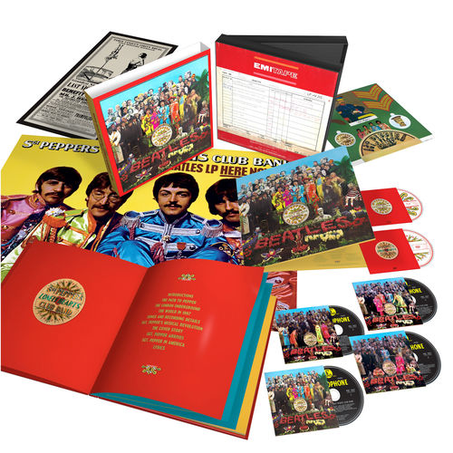 Sgt. Pepper's Lonely Hearts Club Band Anniversary Super Deluxe Edition