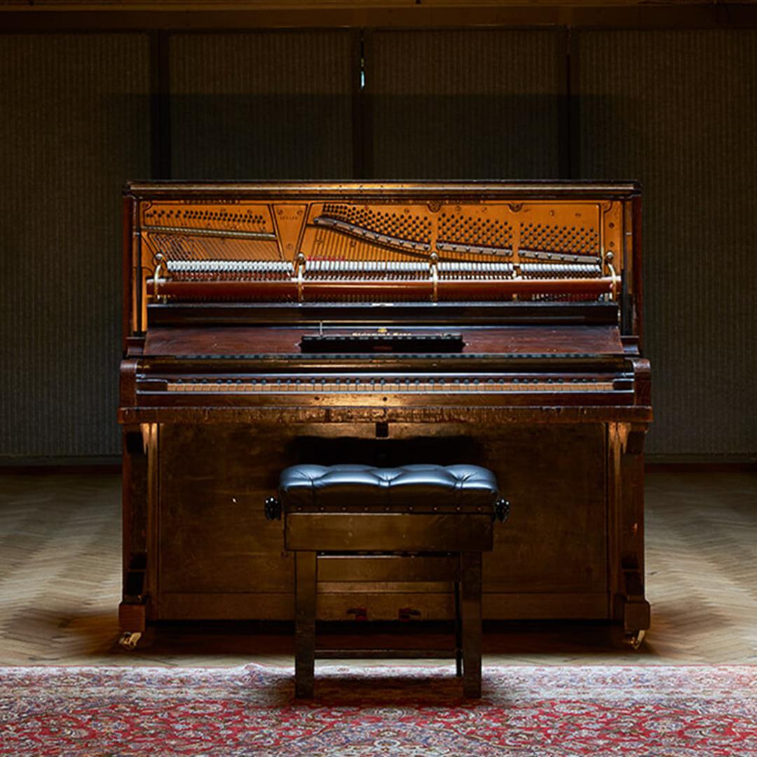 Steinway Vertegrand Upright Piano (Mrs Mills Piano)