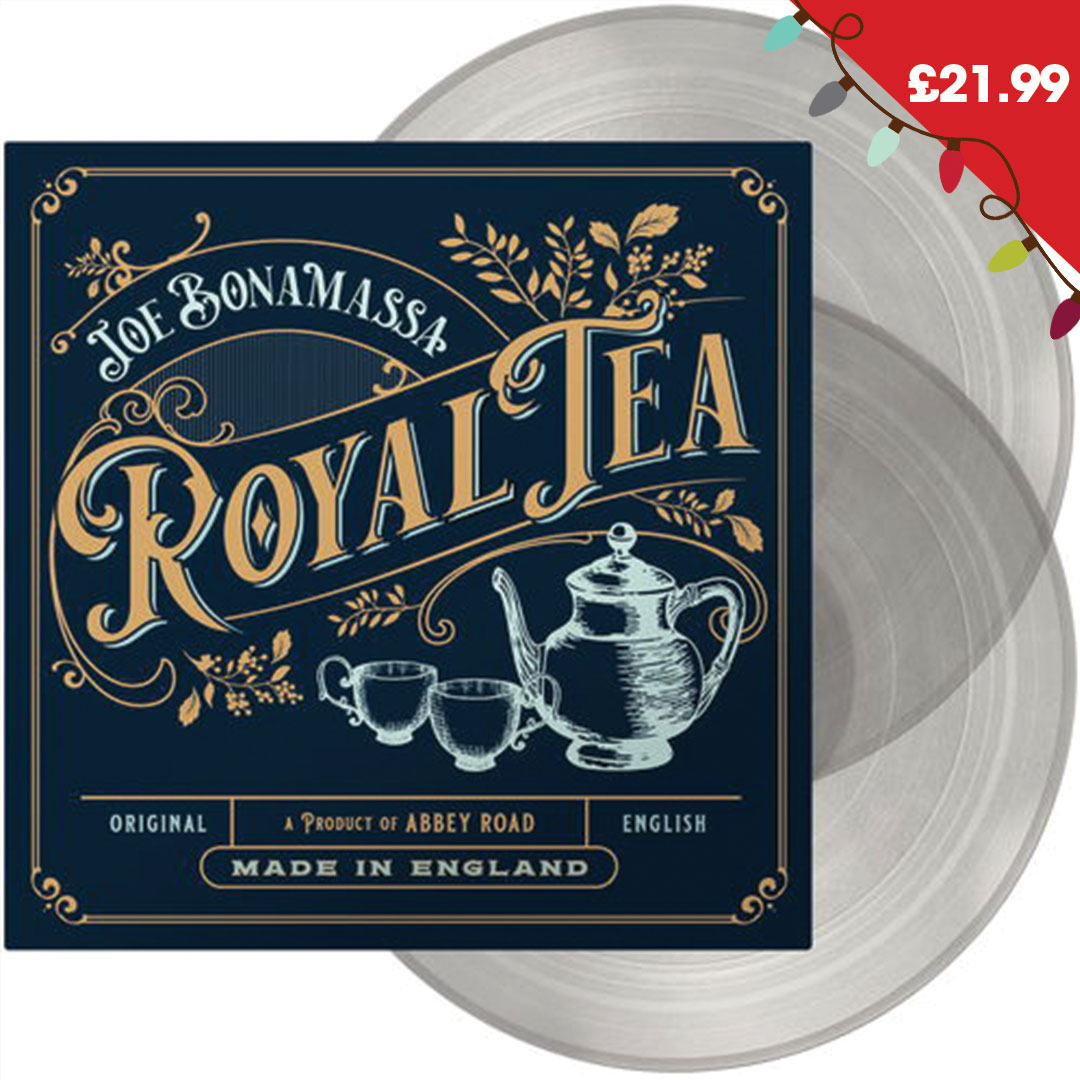 Royal Tea: Limited 180gm Transparent Tea Vinyl