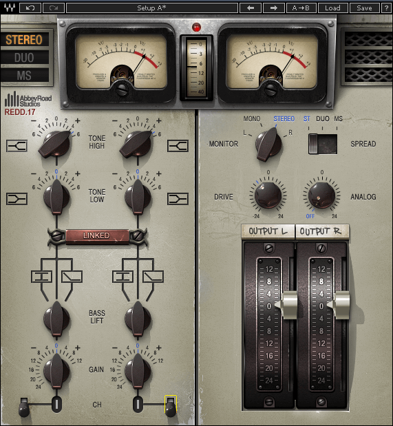 REDD & EMI TG12345 Console Plugins Compared | Waves Audio x