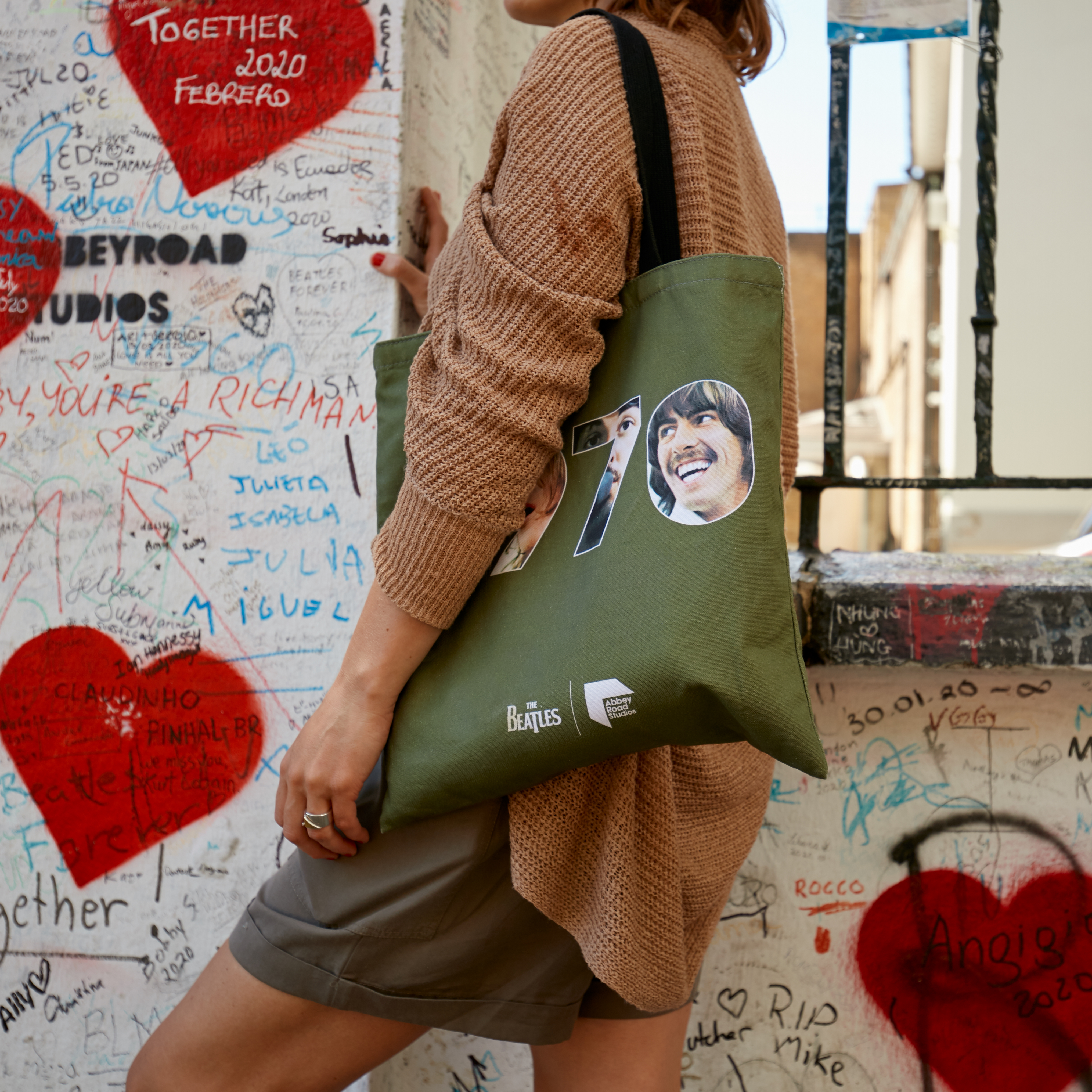 The Let It Be 1970 Tote Bag