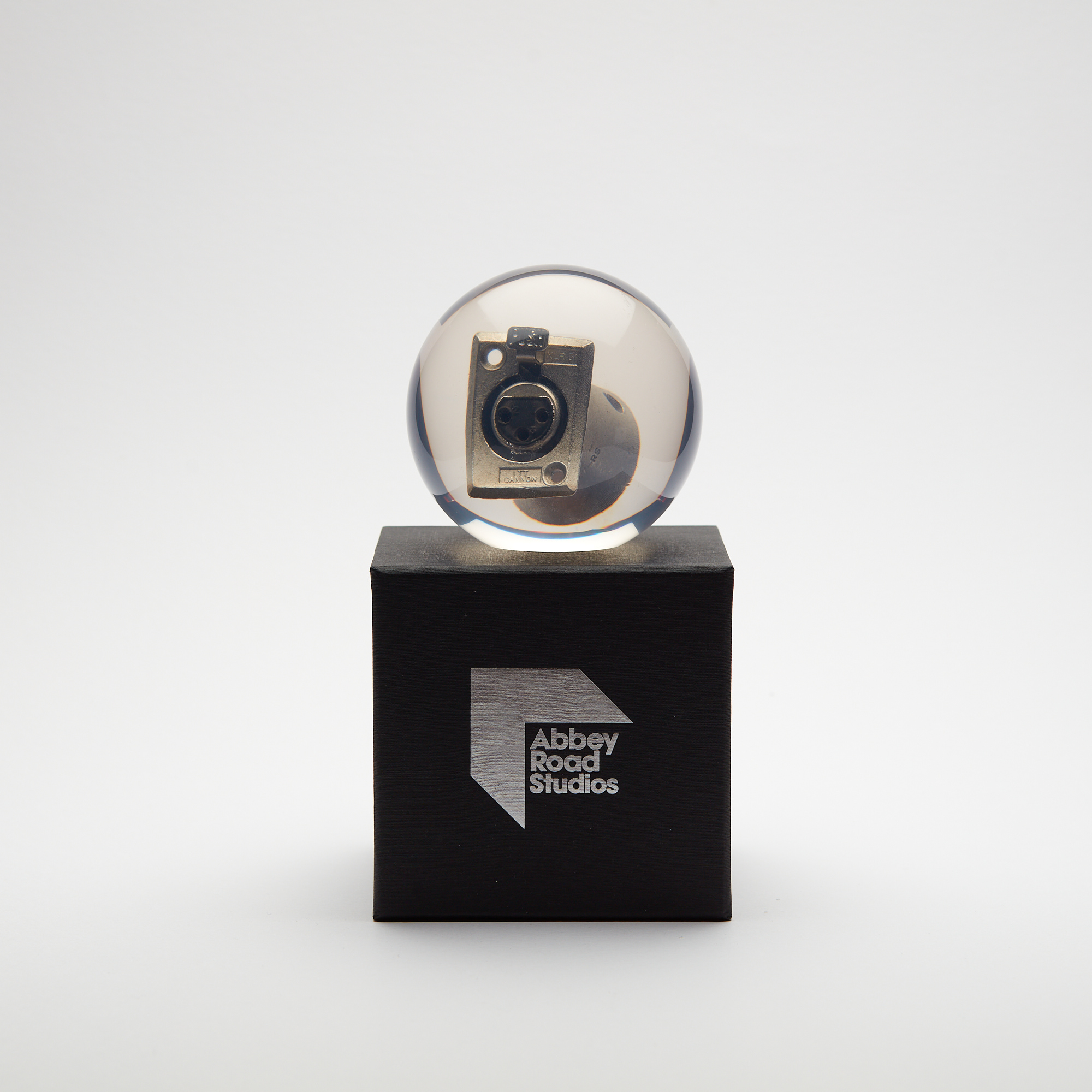 Abbey Road Studios Push Button XLR Connector Paperweight