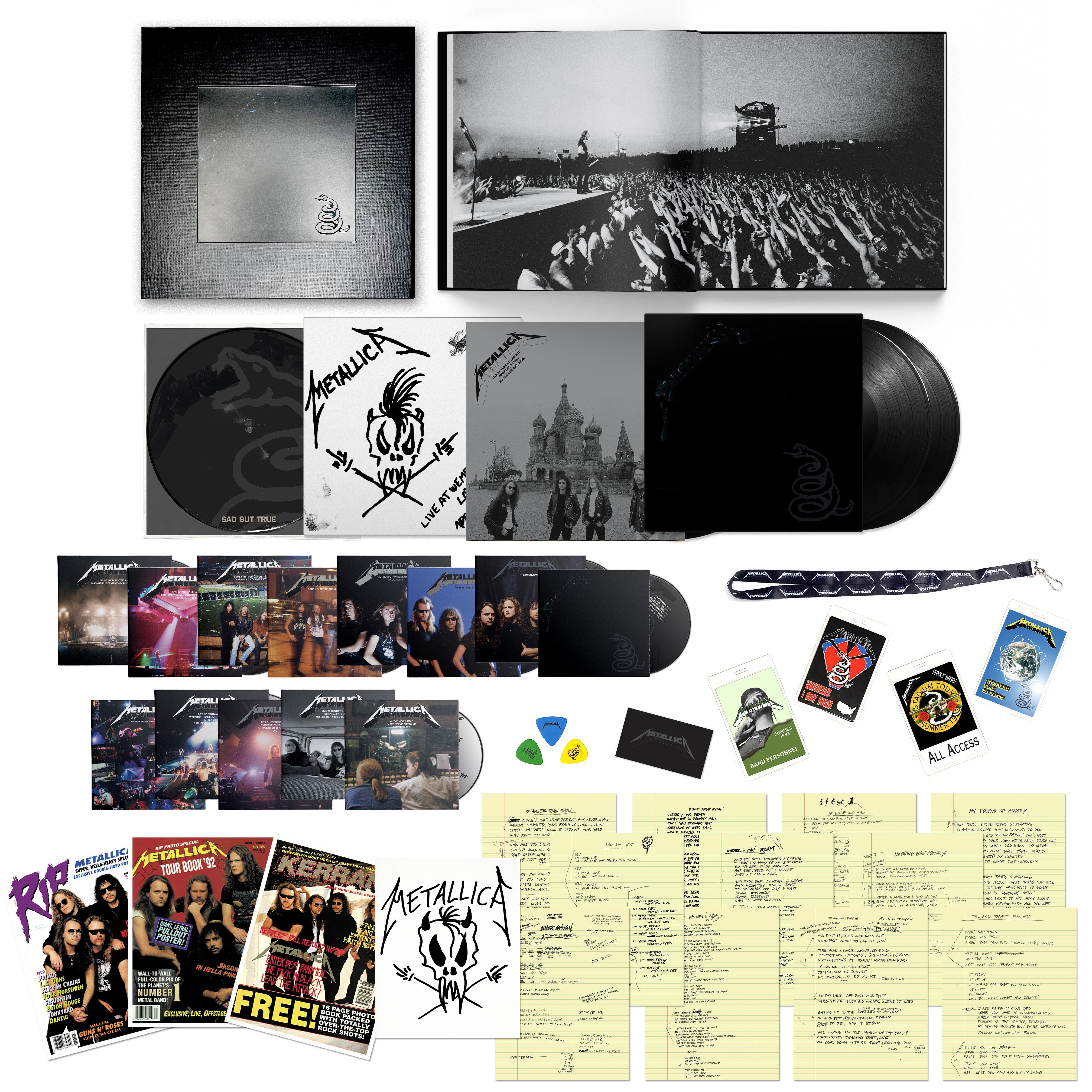 The Black Album (Remastered) Deluxe Box Set
