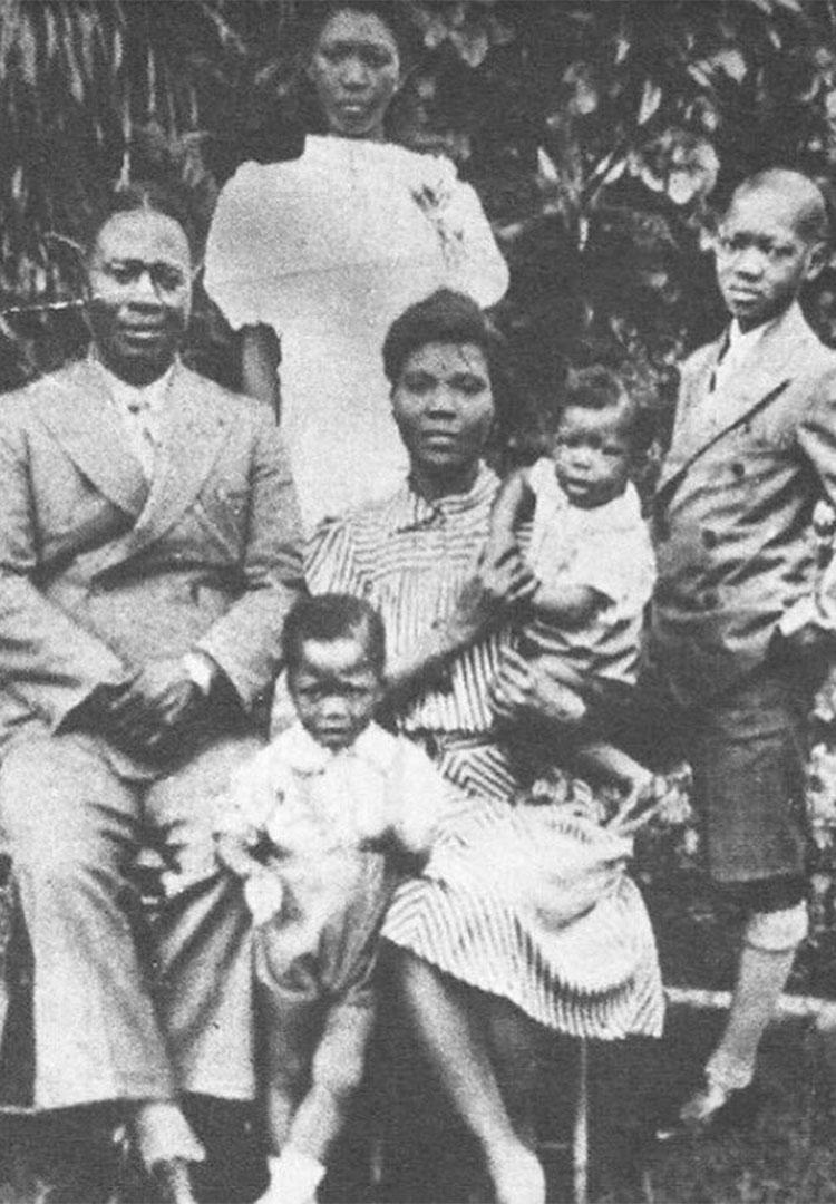 Fela Kuti & his Family