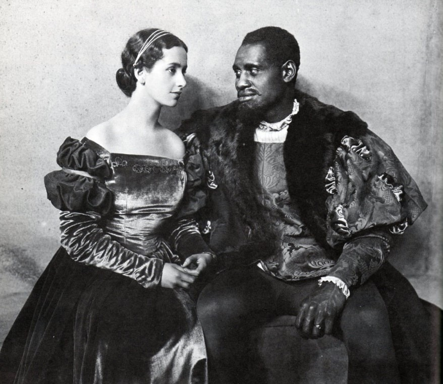 Robeson with Peggy Ashcroft in *Othello*