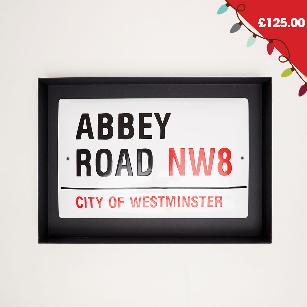 Abbey Road Large Street Sign