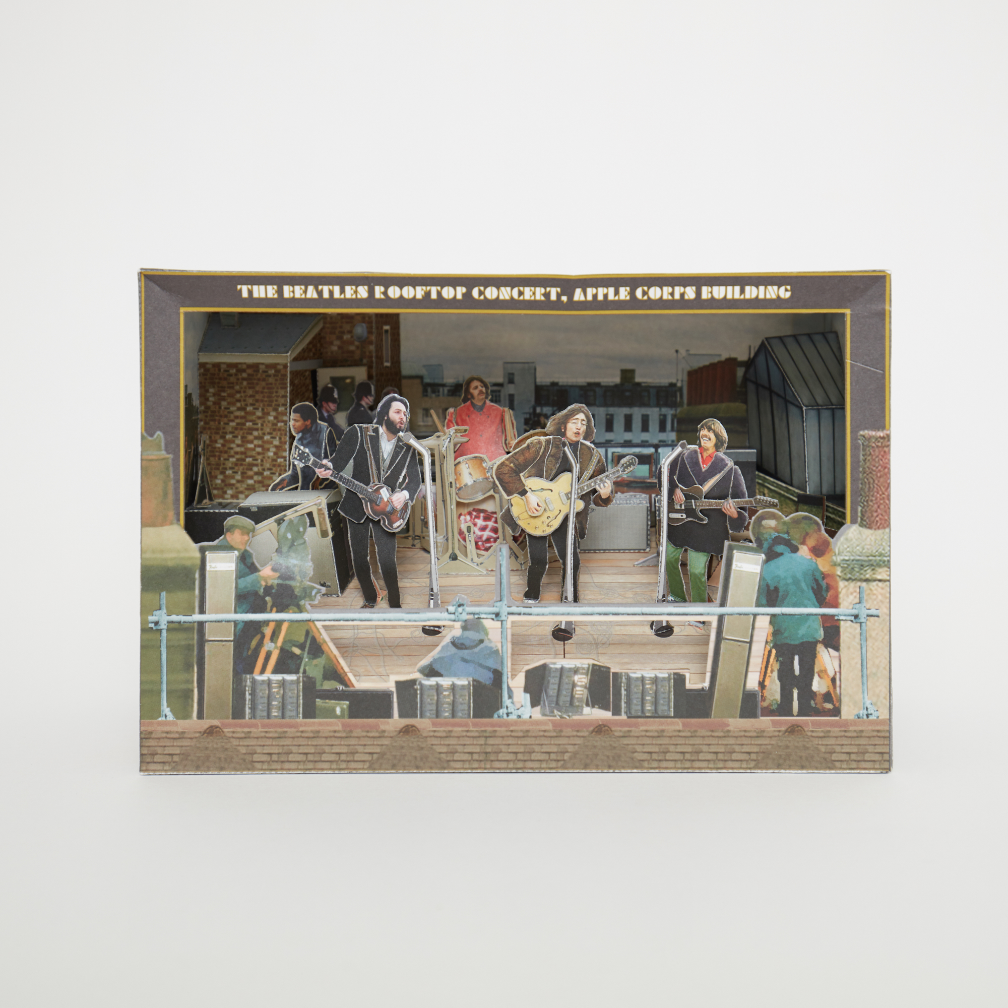 The Beatles Let It Be Diorama