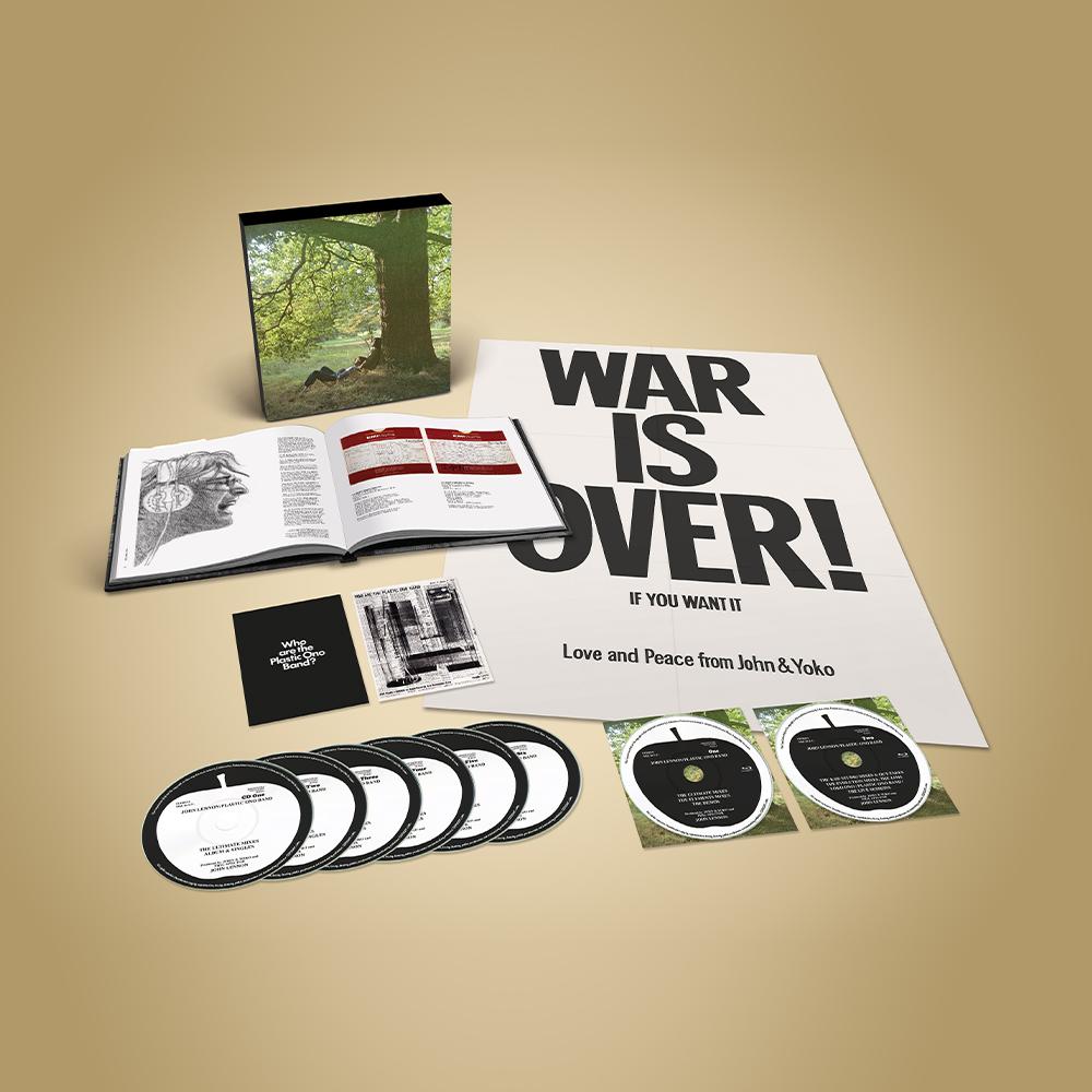 John Lennon/Plastic Ono Band (The Ultimate Mixes) - Super Deluxe CD Box