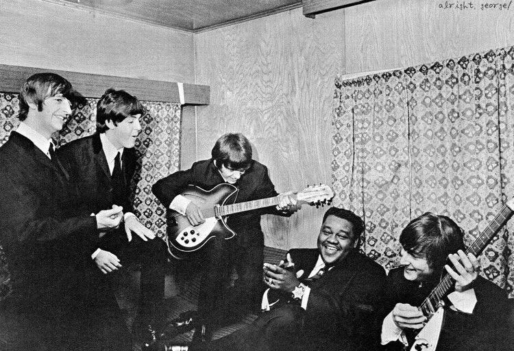 The Beatles with Fats Domino
