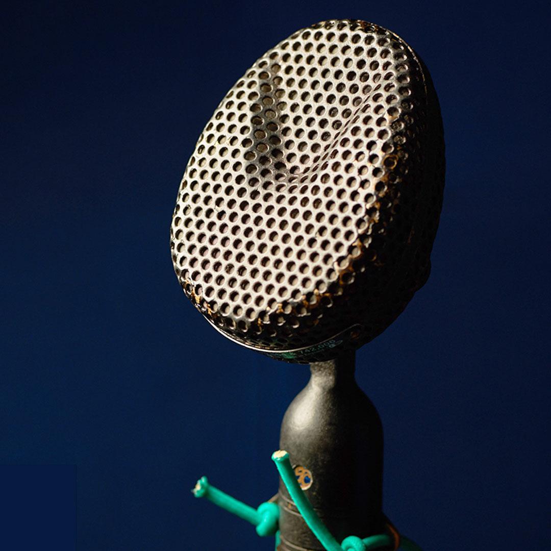 STC 4038 Microphone (1950s)