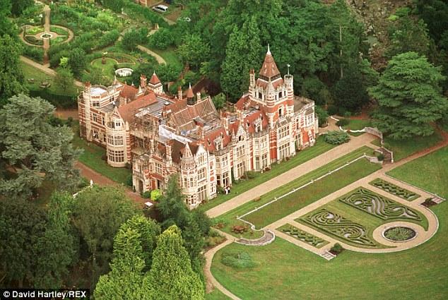 62-acre Friar Park mansion near Henley-on-Thames
