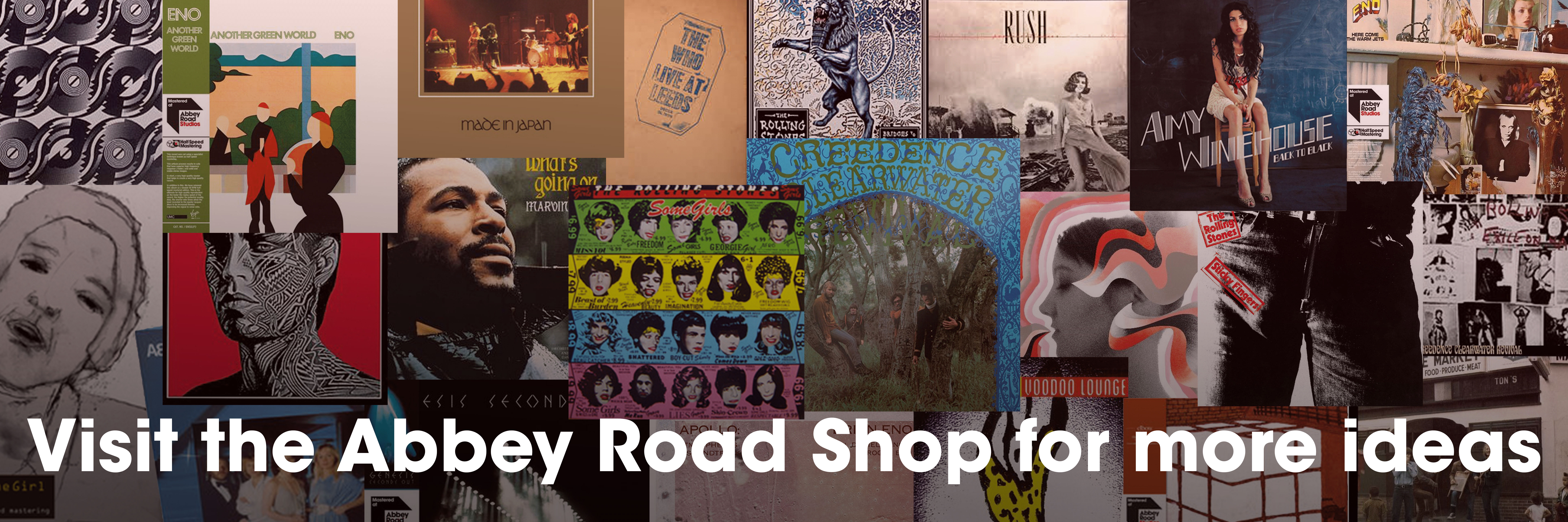 Visit the Abbey Road Shop for more ideas