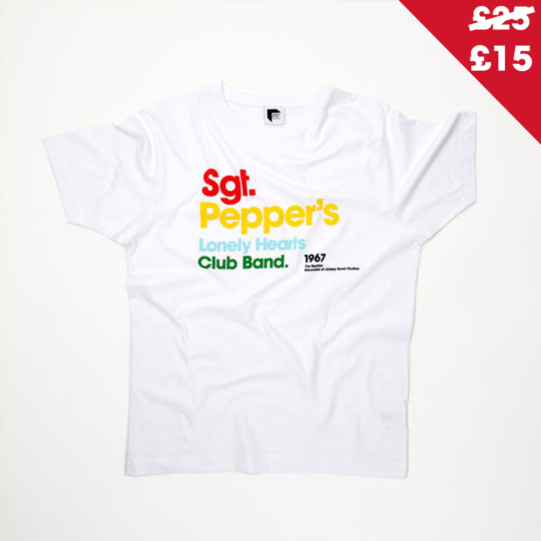 The Beatles Sgt Pepper Titles T-Shirt