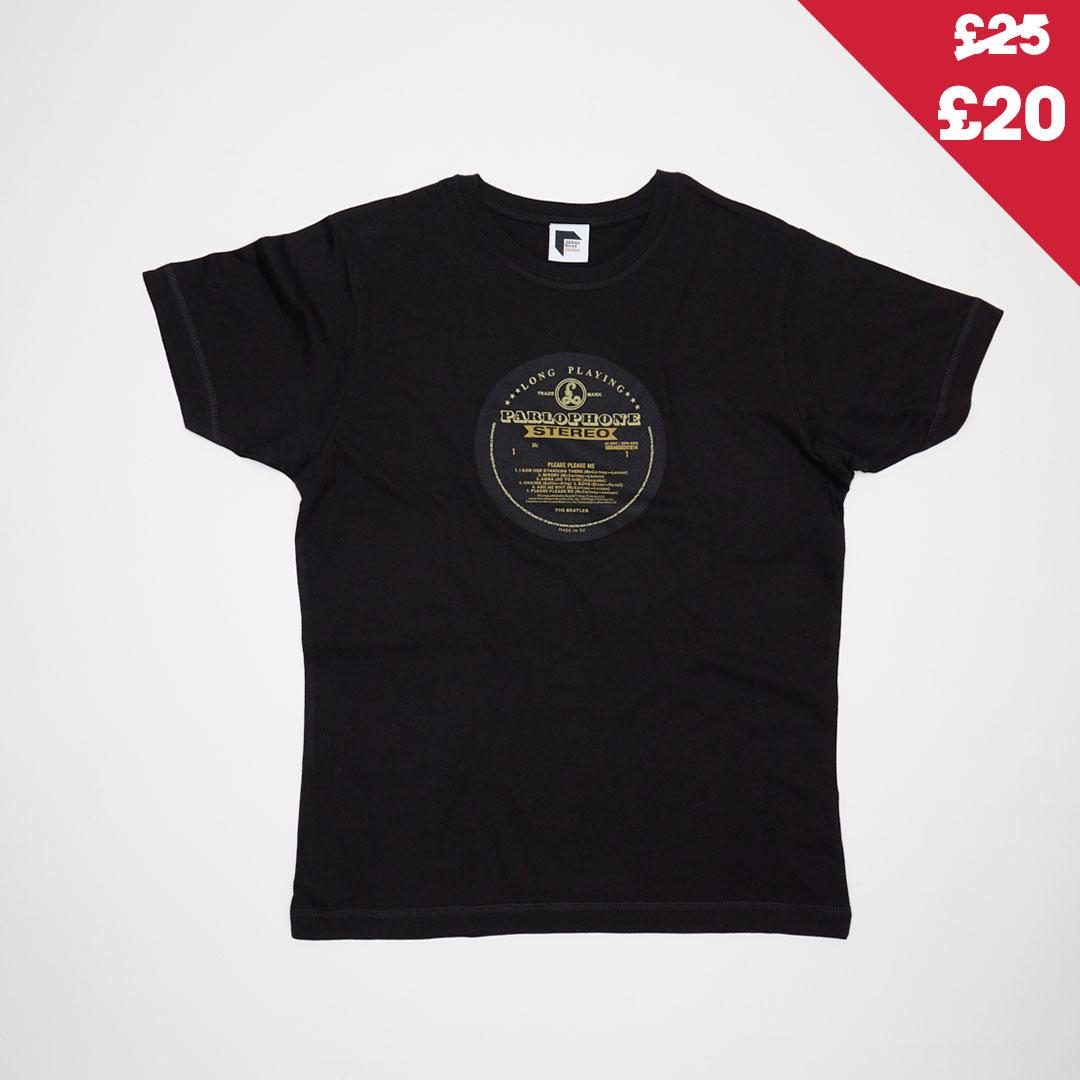 The Beatles Vinyl Parlophone Please Please Me T-shirt
