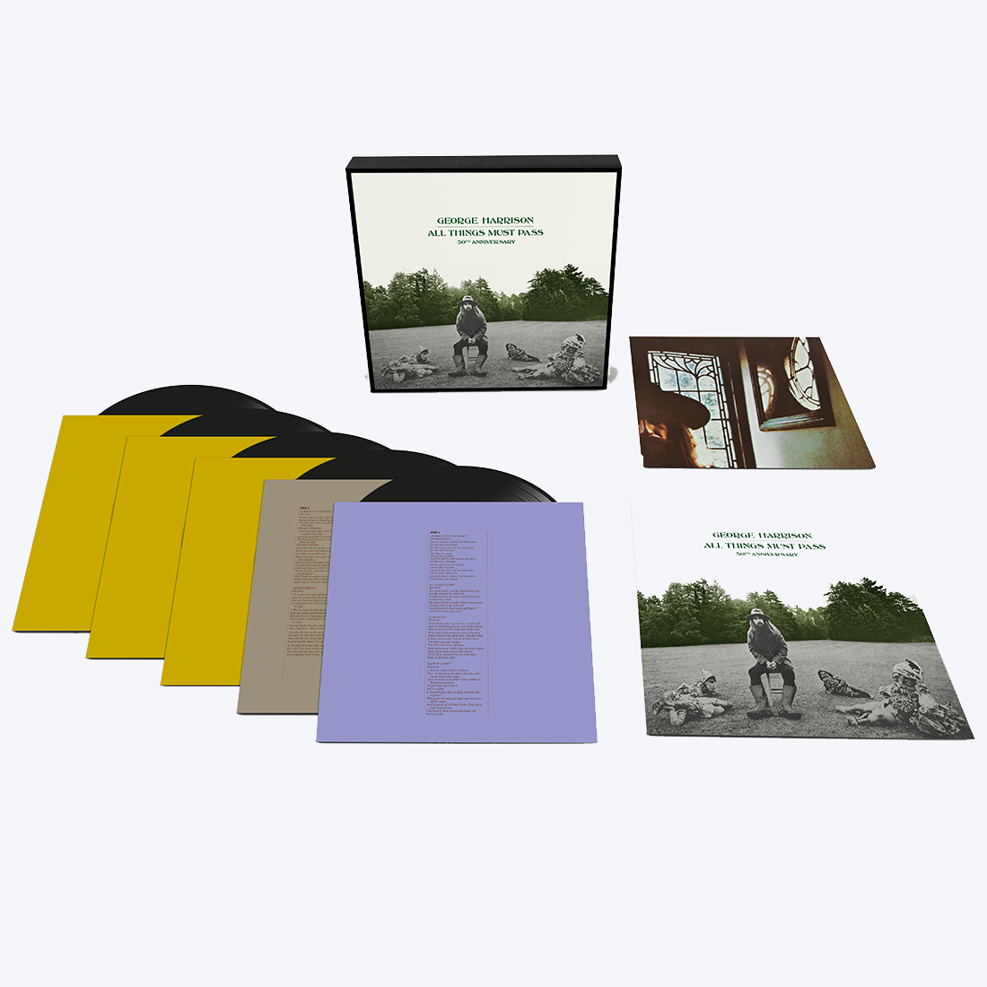 All Things Must Pass: Deluxe 5LP