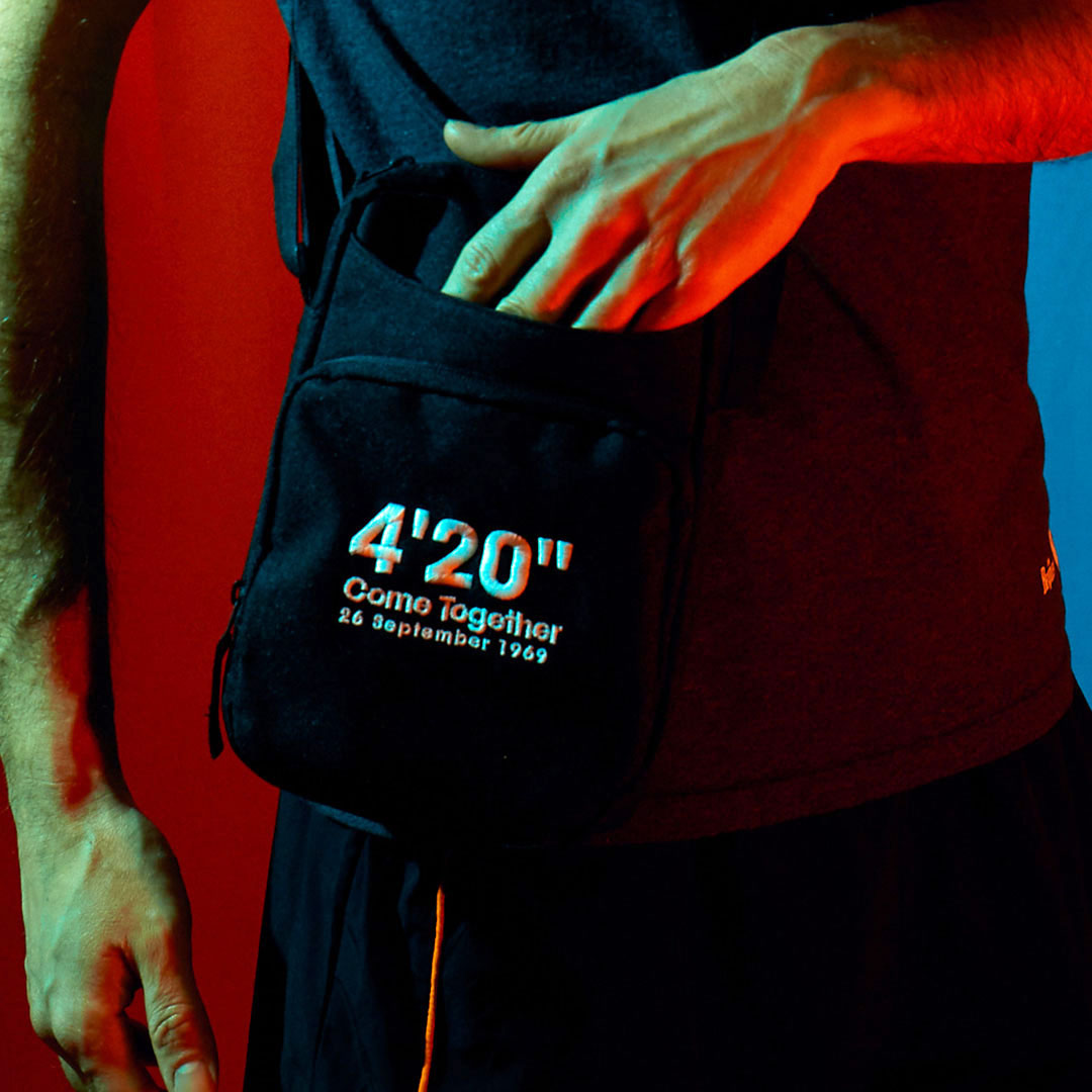 """The 4'20"""" Come Together Cross Body Bag"""