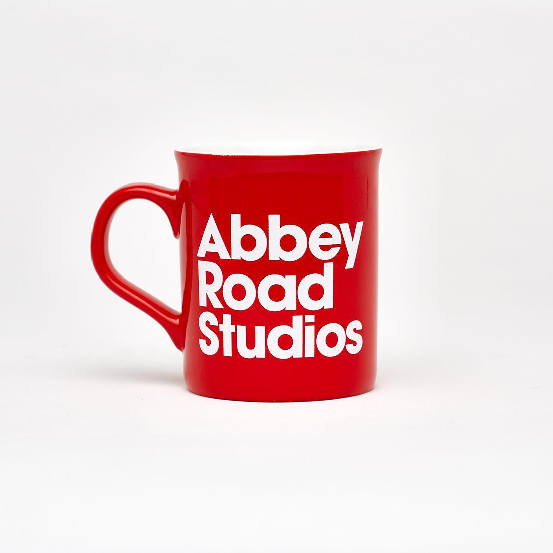 Red Abbey Road Studios Mug