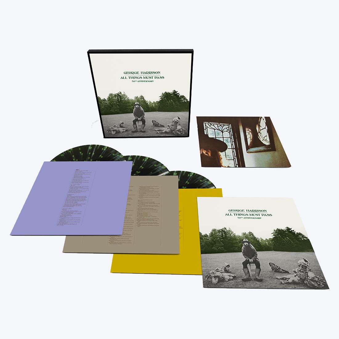 All Things Must Pass: Exclusive Green + Black Splatter Vinyl 3LP