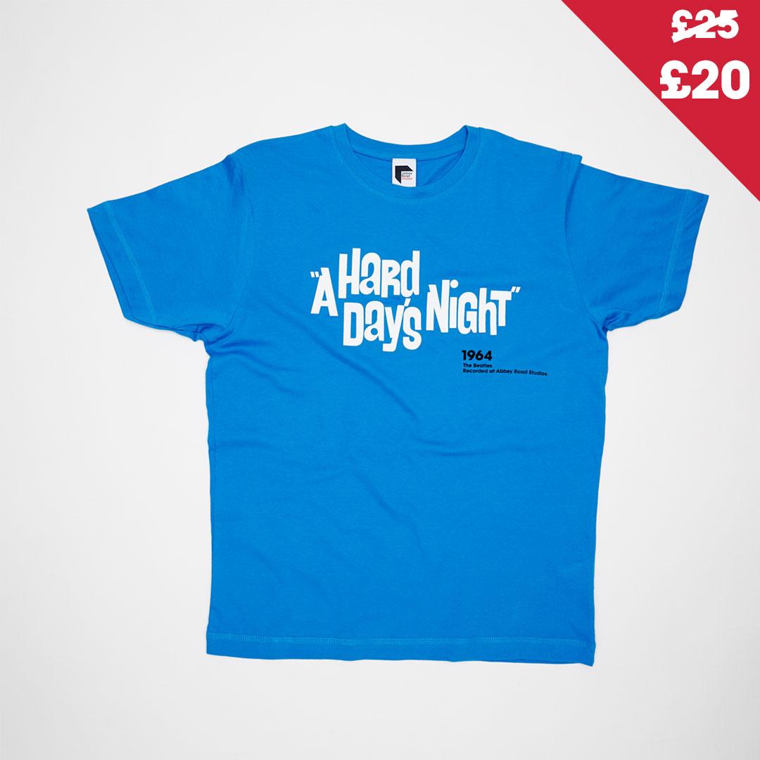 The Beatles Hard Days Night Titles - T-shirt