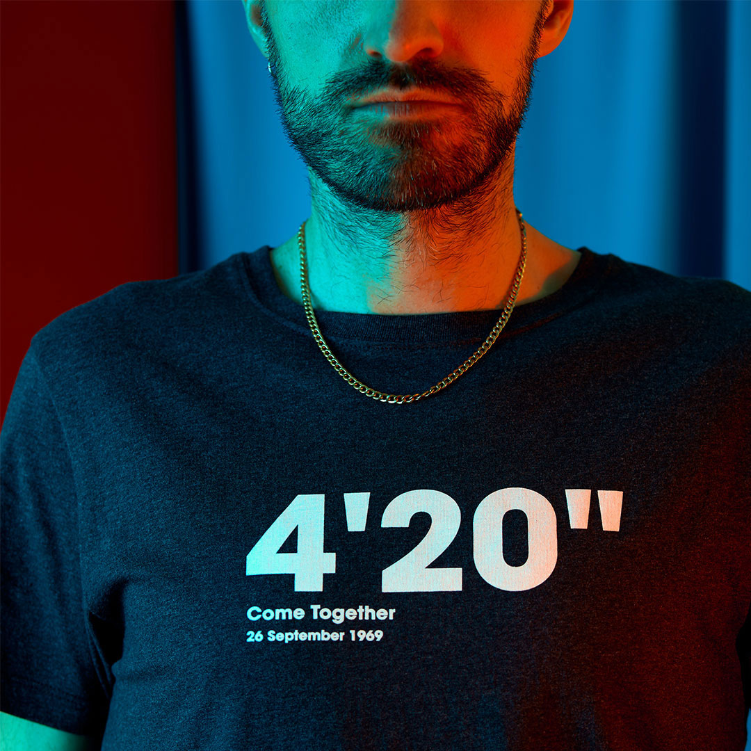 """The 4'20"""" *Come Together* T-Shirt"""
