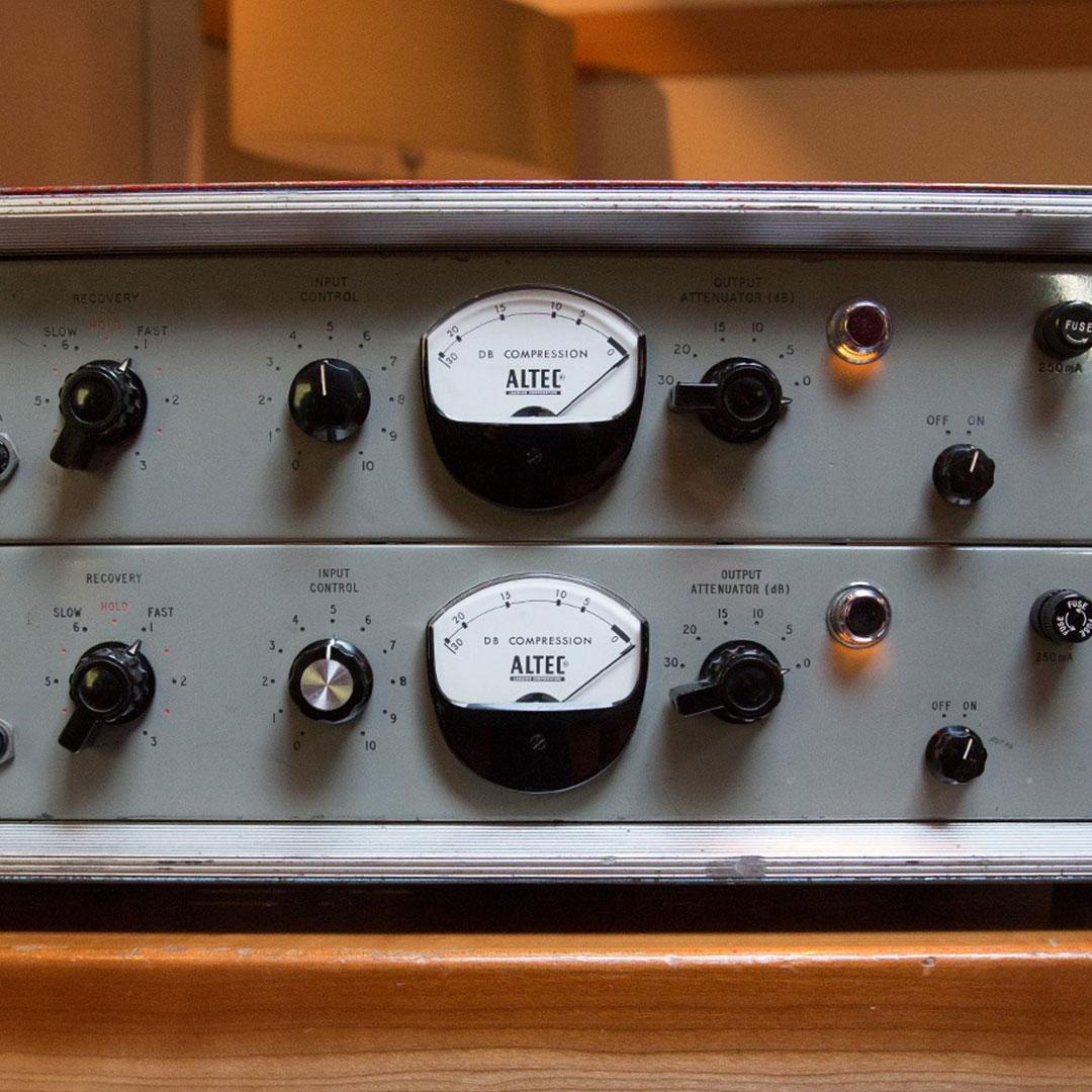 ALTEC RS124 Compressor (1960s)