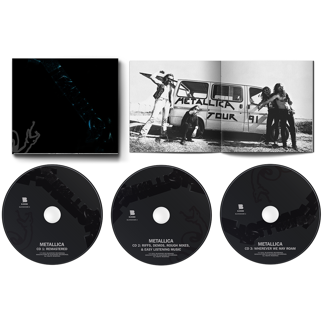 The Black Album (Remastered) 3CD Expanded Edition