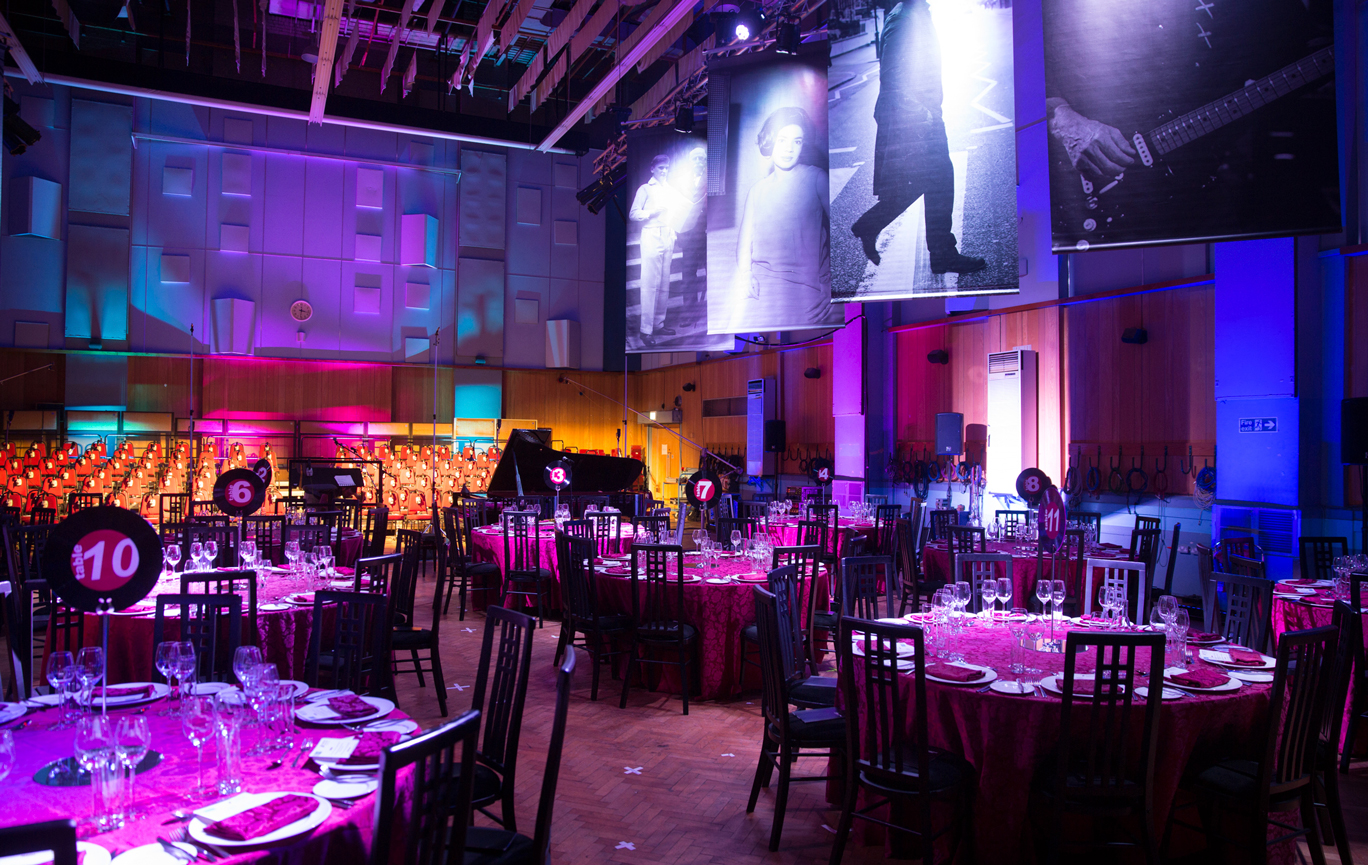 Event Hire - Abbey Road Studios