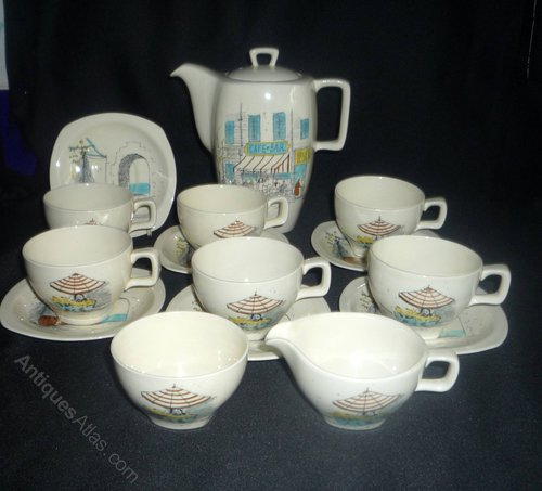 Antiques Atlas Midwinter Riviera Coffee Set By Hugh Casson