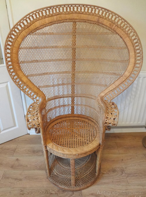 Antiques Atlas Vintage Peacock Chair