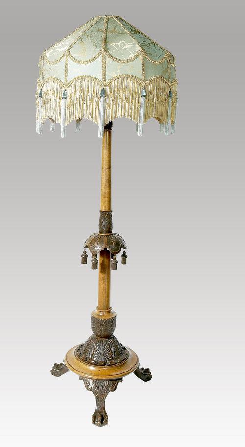 Antiques Atlas Edwardian Standard Lamp
