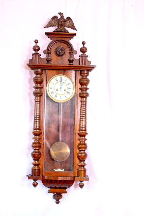 Antiques Atlas Gustav Becker Wall Clock